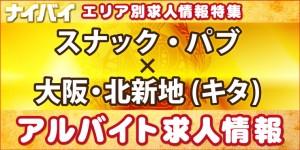 スナック・パブ-大阪・北新地(キタ)-アルバイト求人情報