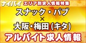 スナック・パブ-大阪・梅田(キタ)-アルバイト求人情報